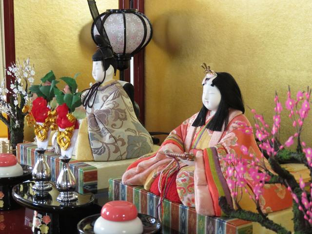 我が家の雛人形の画像
