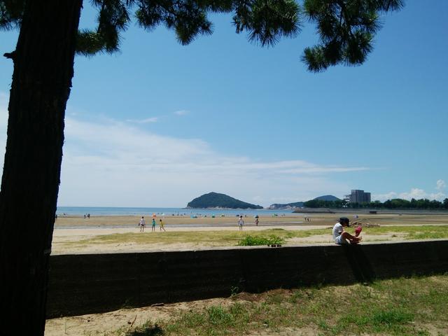 父母ヶ浜の風景