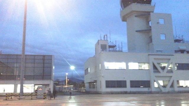 函館空港の滑走路