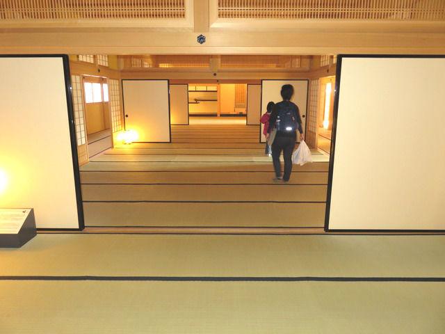 函館奉行所の大広間