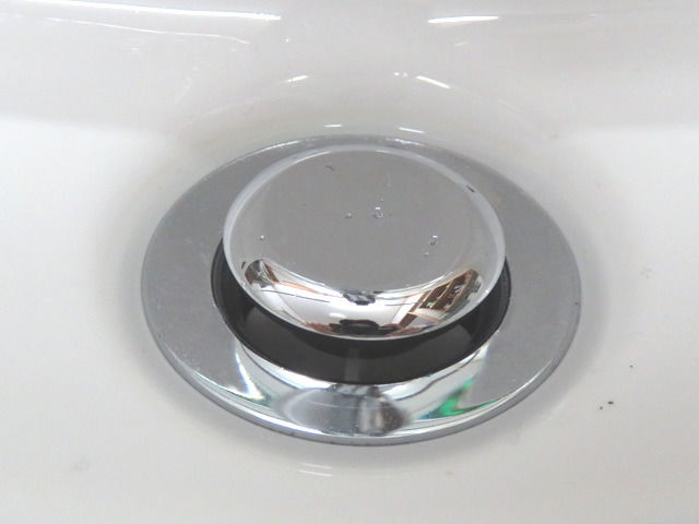 ポップアップ式排水口の画像
