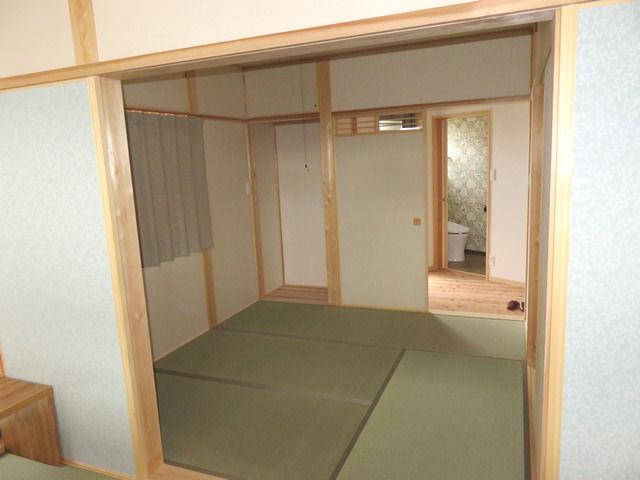 和室と仏壇置き場