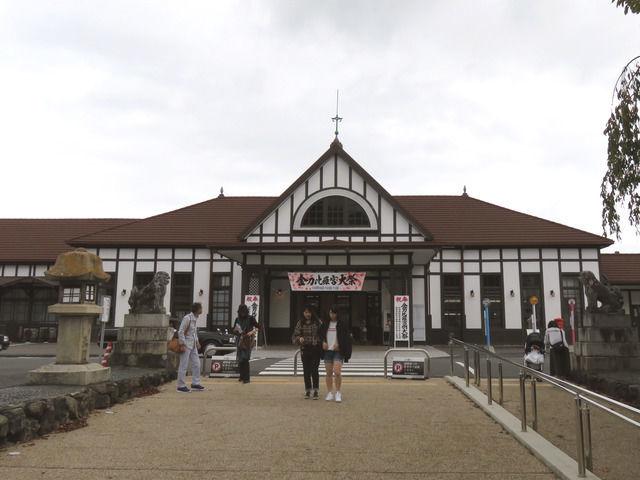 新しい琴平駅の外観