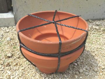 購入品の植木鉢