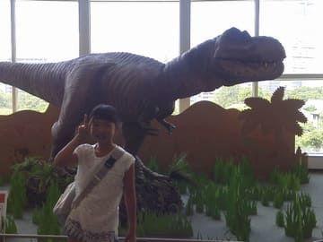 かがわ生命のミュージアム 動くティラノサウルス