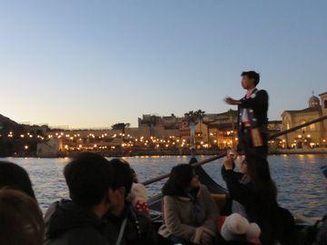 夕暮れのゴンドラから見た景色