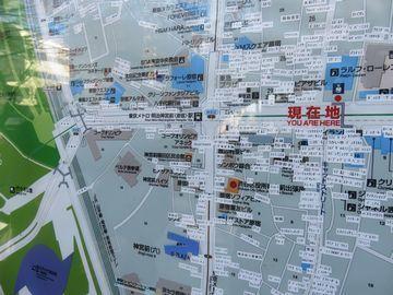 表参道の交番の地図