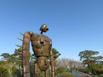 ジブリ美術館の巨人兵オブジェ