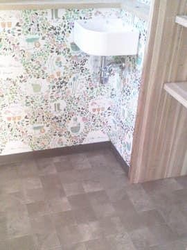 トイレ床リリカラLH80561