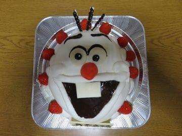 オラフのキャラケーキ
