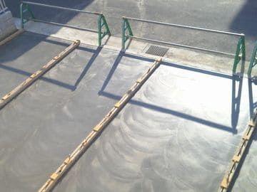 コンクリートの表面