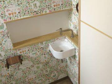トイレの手洗い周囲