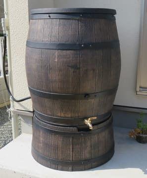 設置した雨水タンク