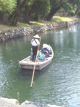 玉藻公園の遊覧船