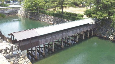 玉藻公園の水路