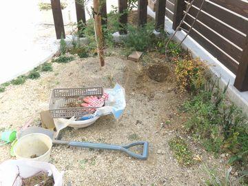 庭土の改良
