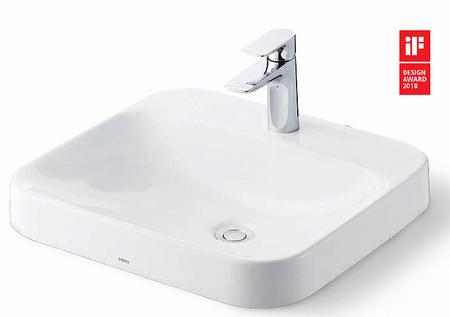 TOTOシステム洗面台ドレーナの洗面ボウル