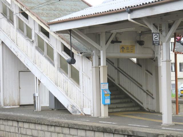 JR善通寺駅の様子