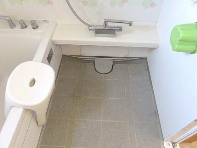 タカラ ユニットバス ミーナのお風呂の床