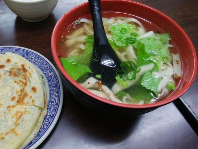 93蕃茄牛肉麺の料理