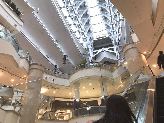 台北101の店内の様子