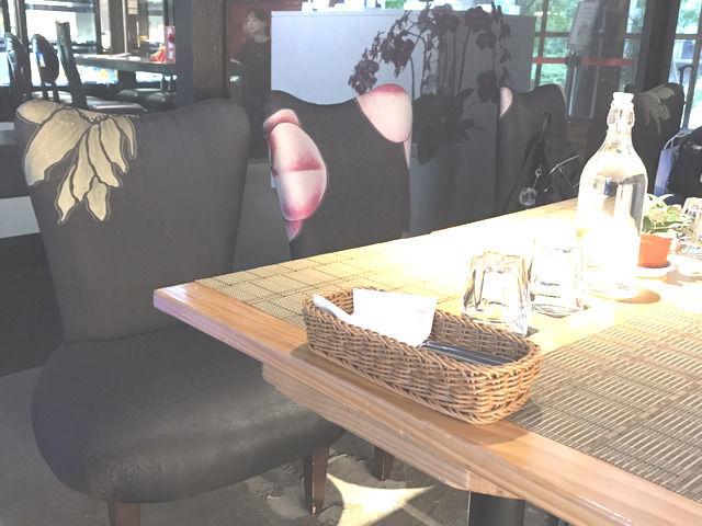 松山文創園区のカフェ LIULI CAFEの店内の様子