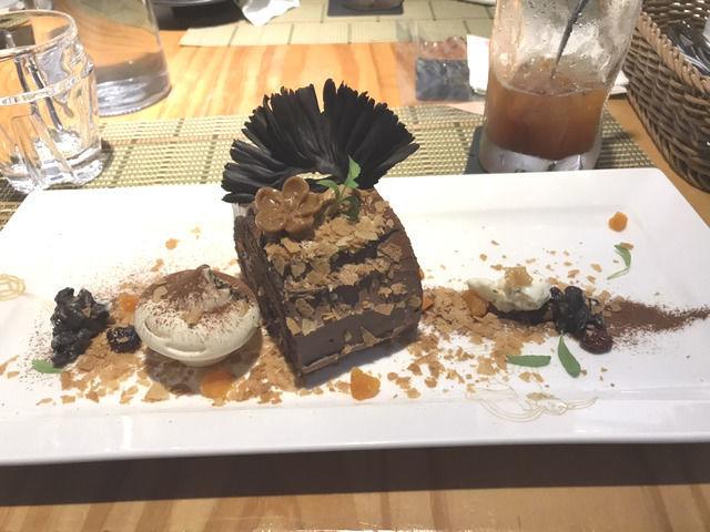 松山文創園区のカフェ LIULI CAFEのロールケーキ