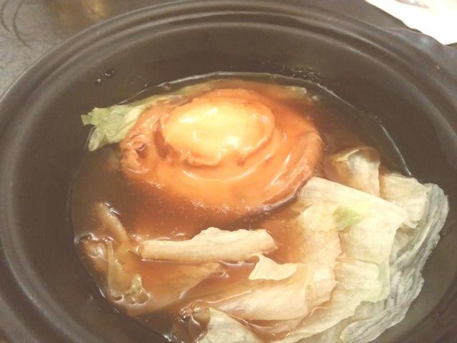龍鮑翅魚翅専売店のあわび料理
