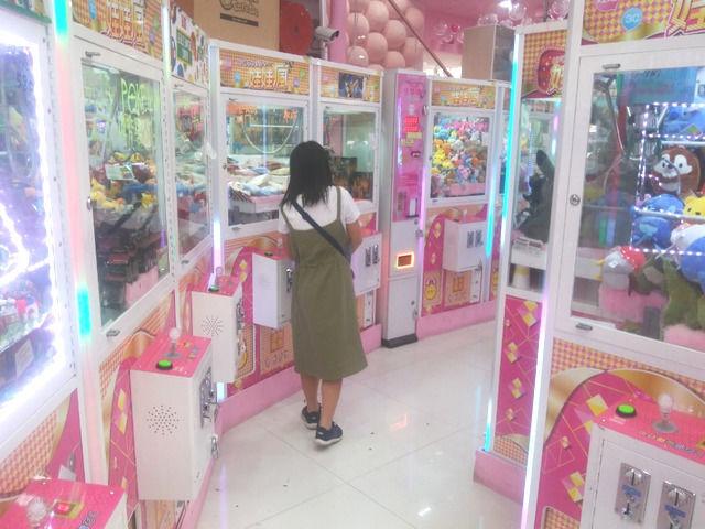 台湾 西門の様子 ゲームセンター