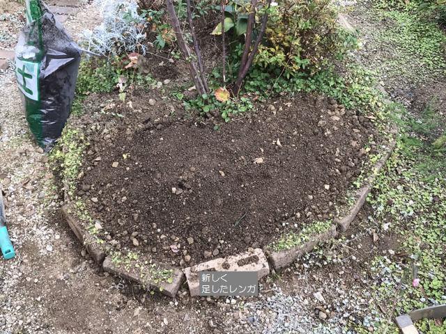 土壌改良を終えた様子