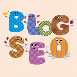 BLOG SEOのロゴマークイラスト