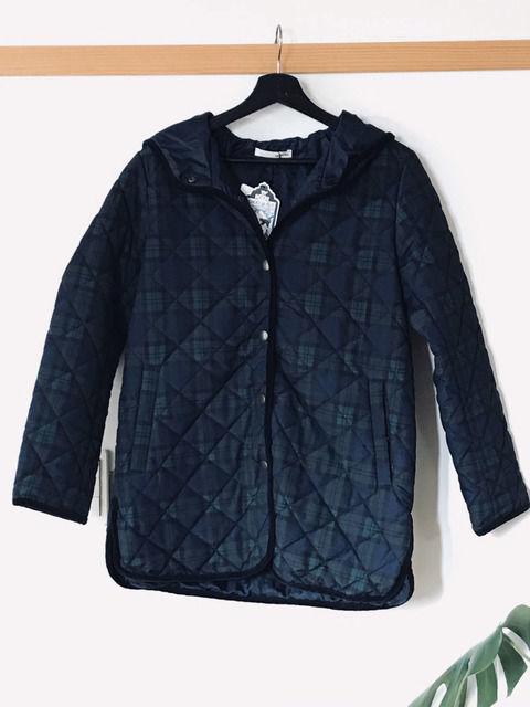 シューラルー ブラックウォッチのキルトコートの画像