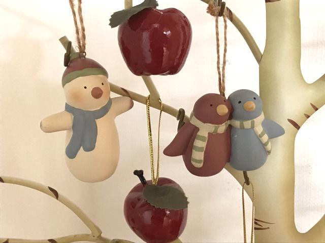 クリスマスツリーの飾りアップ