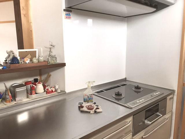 大掃除した後のキッチン周辺