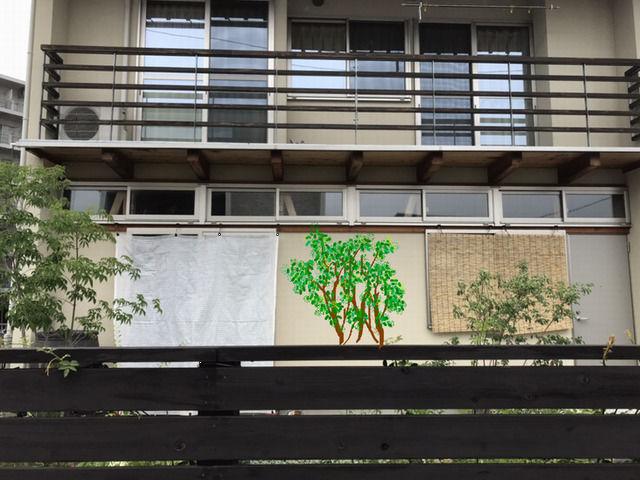 庭木を植えたイメージ 側面