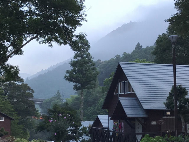 霧の森コテージ 早朝