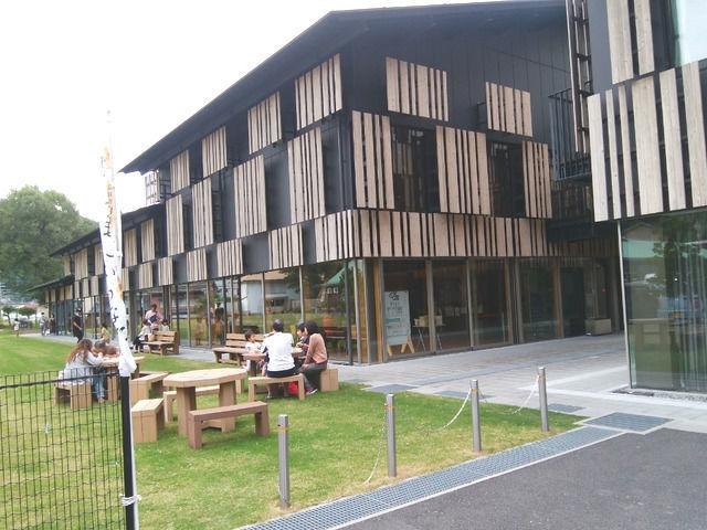 隈研吾 梼原町生涯学習センターの外観