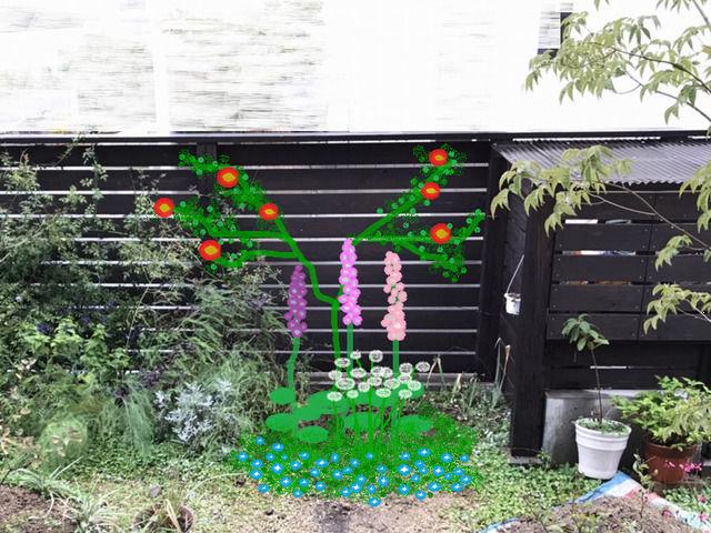 庭の改造プラン カクテル