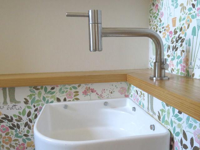 トイレの造作手洗い