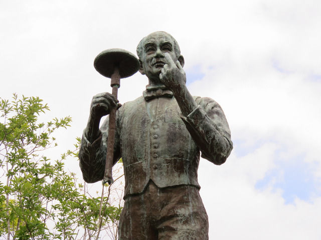 牧野富太郎博士の像