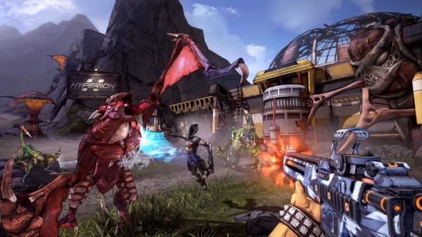 Borderlands2ゲーム画面