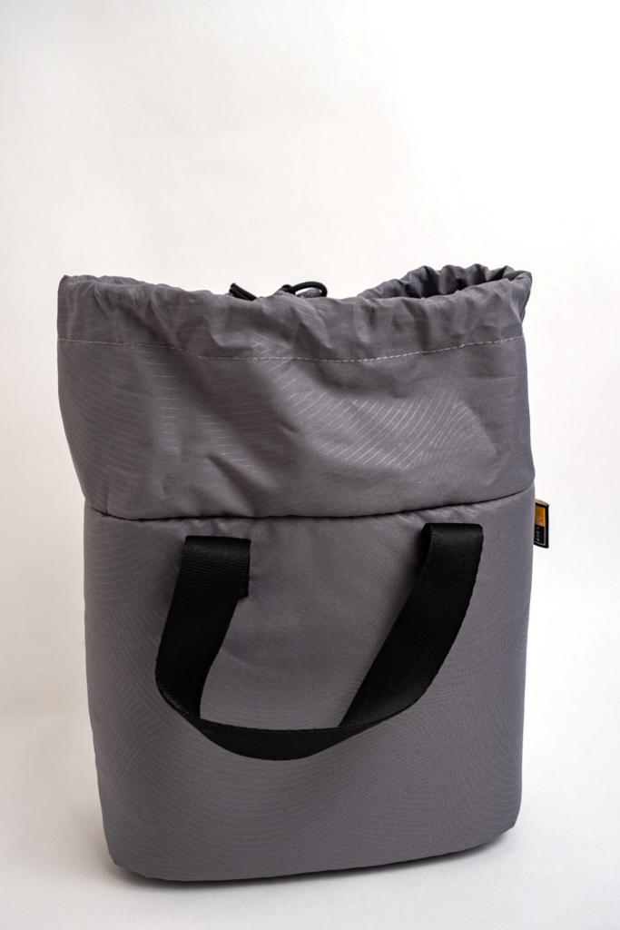 case logic FLXM-101のカメラ収納巾着袋