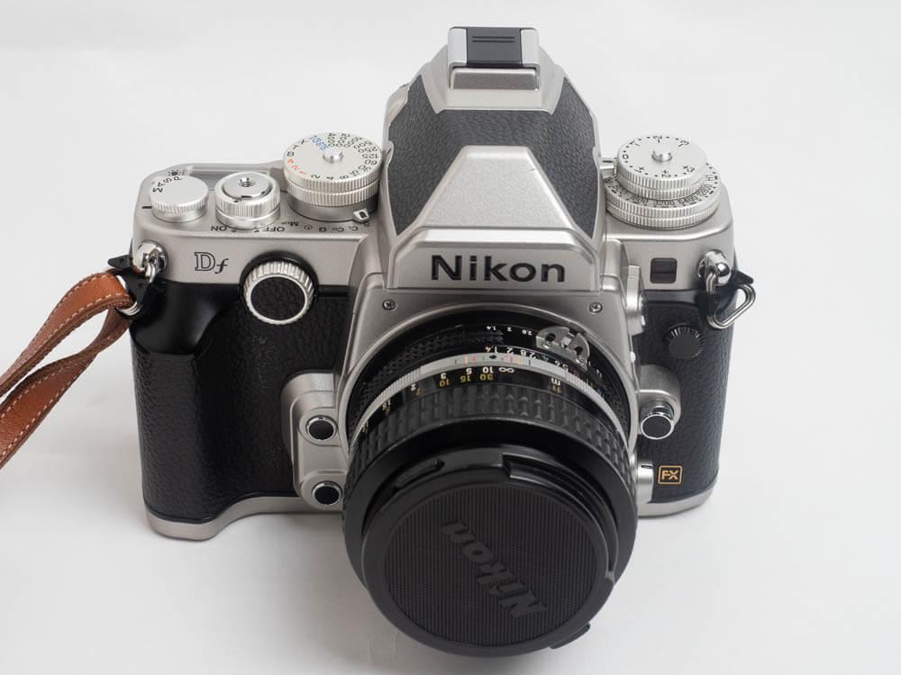 OPG画像 Nikon Dfの外観