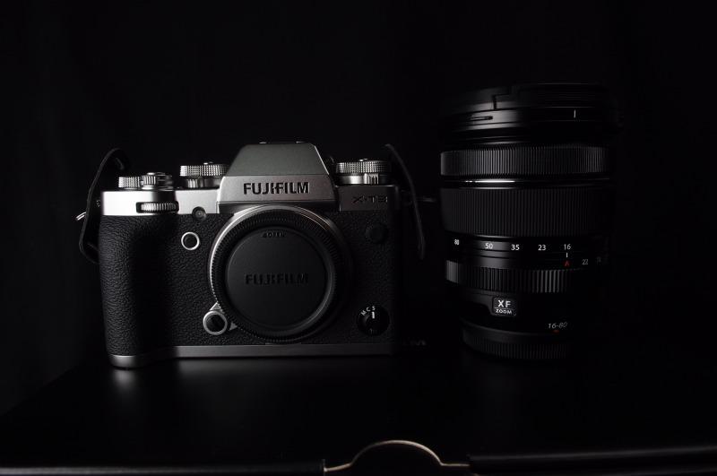 X-T3とXF16-80mmの画像