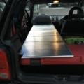 VW Lupo GTI 用車中泊ベッド