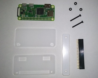 Raspberry Pi Zero WとGPIOハンマーヘッダー