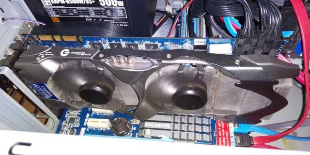 Geforce GTX 660 TiをマイPCに取り付けたところ
