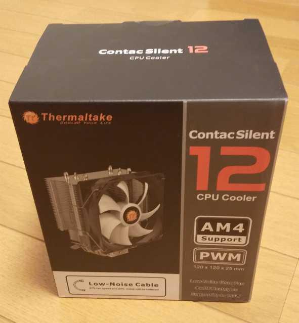 Contac Silent 12の箱の写真