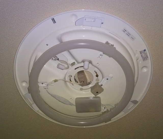 LEDランプを取り付けた状態