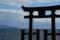 『京都新聞写真コンテスト 鳥居の上で』
